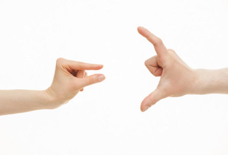 Как определить размер члена по руке