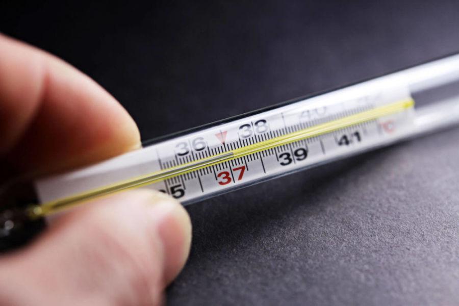 Повышенная температура на градуснике