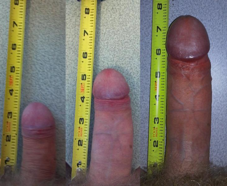 Разные размеры члена