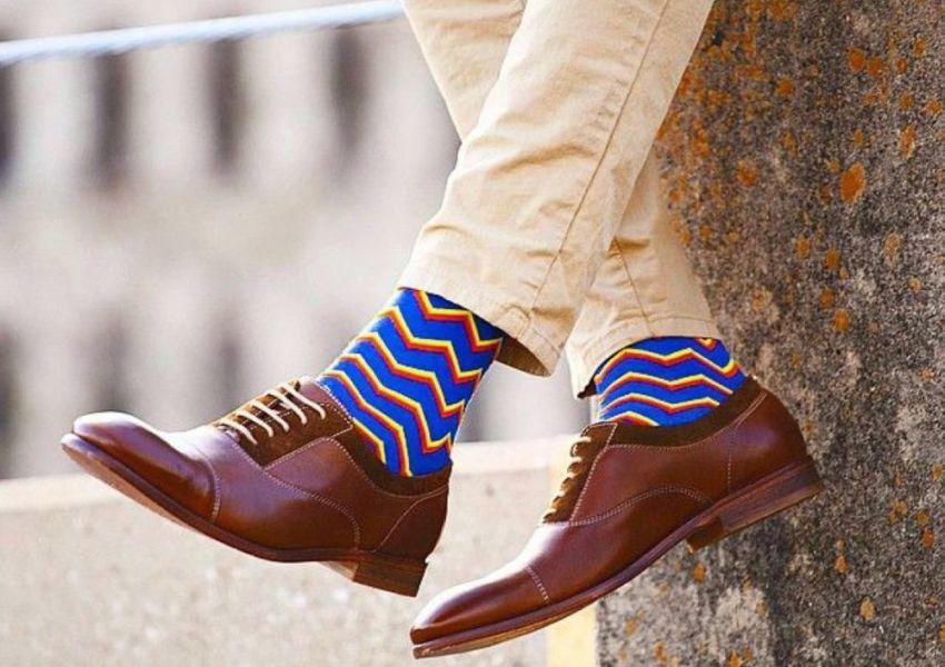 Разноцветные носки