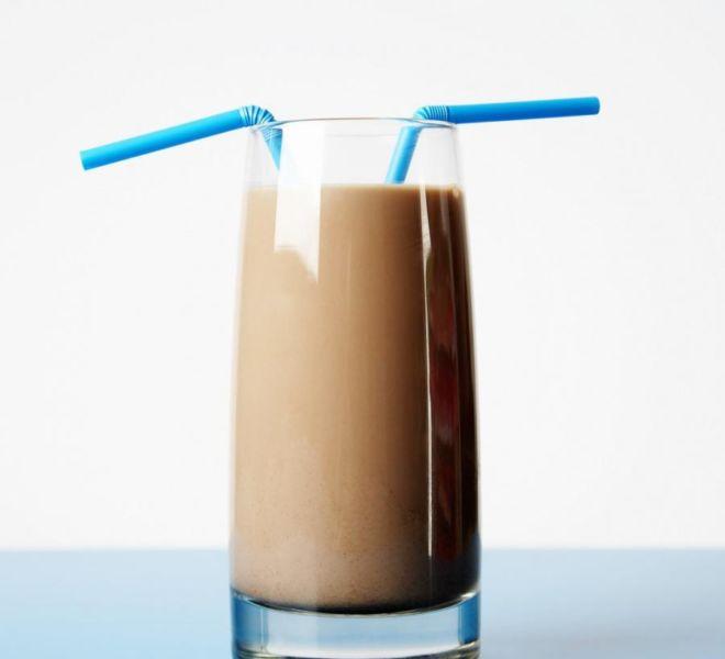 Шоколадно - молочный коктейль